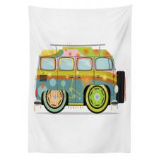 Hippie Campervan Tablecloth