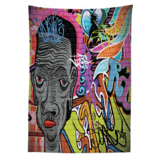 Hip Hop Spirit Tablecloth