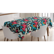 Hyped Tangle Art Tablecloth