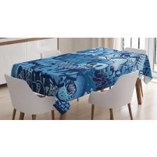 Xenomorph Alien Tablecloth
