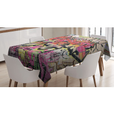 Surreal Painting Tablecloth