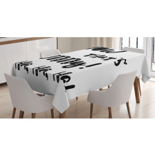Jokes and Laughing Tablecloth