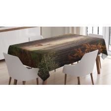 Deer Mystical Forest Tablecloth