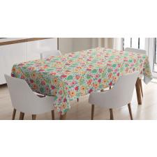 Pre-School Theme Turtles Tablecloth