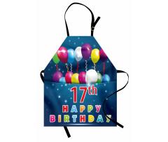 17 Birthday Apron