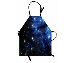 Mutfak Önlüğü Yıldızlar ve Uzay