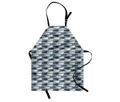 Abstract Art Silhouettes Apron
