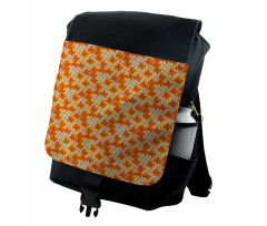 Abstract Autumn Flora Backpack