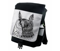 2 Animal Faces Design Backpack
