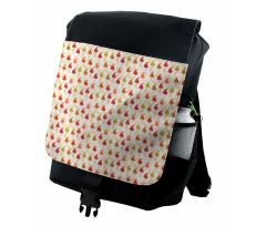 Abstract Autumn Leaf Art Backpack