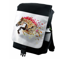 Abstract Art Wild Horse Backpack