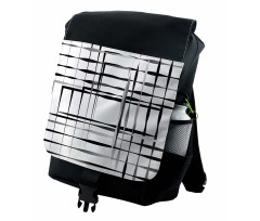 Abstract Art Geometric Backpack