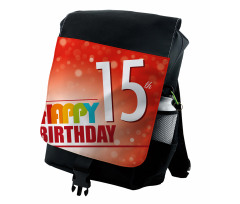15th Birthday Concept Backpack