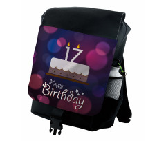 17 Party Cake Backpack
