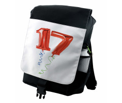 17 Party Red Balloons Backpack