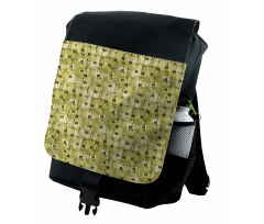 Abstract Autumn Garden Backpack
