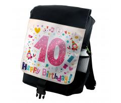 10 Years Kids Birthday Backpack