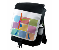 Abstract Athlete Backpack