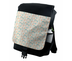 Abstract Art Floral Doodle Backpack