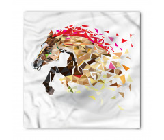 Abstract Art Wild Horse Bandana