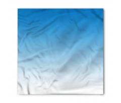 Bandana Açık Mavi Desenli