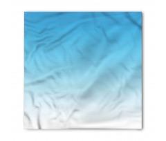 Bandana Mavi ve Beyaz Desenli