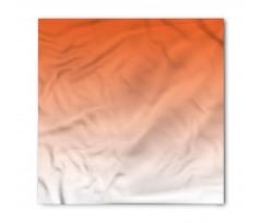Bandana Turuncu Beyaz Desenli