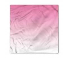 Bandana Pembe Beyaz Desenli