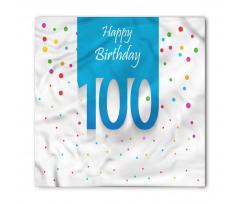100 Years Birthday Bandana