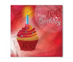100 Old Cupcake Bandana