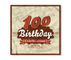 100 Old Party Invite Bandana