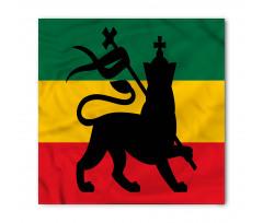 Afrika Bandana Haç ve Aslan