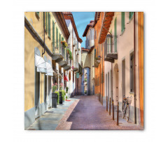 Avrupa Bandana Kuzey İtalya Pastel Binalar
