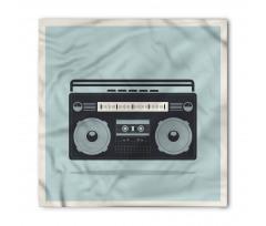 1980s Boombox Image Bandana