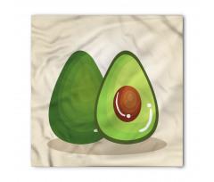 Avokado Bandana İçindeki Çekirdeği Parlayan Sağlıklı Meyve