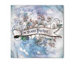 10 Years Floral Art Bandana
