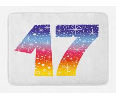 17 Party Bath Mat