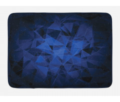 Abstract Atomic Stars Bath Mat