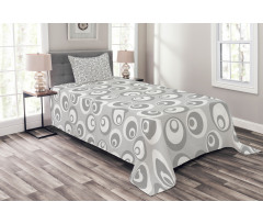 Abstract Art Modern Bedspread Set