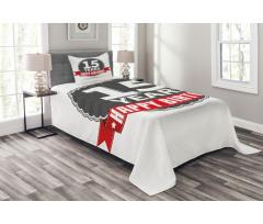 15 Emblem Bedspread Set
