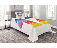 17 Party Bedspread Set