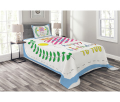 18 Birthday Bedspread Set