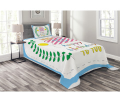 13th Birthday Gifts Bedspread Set
