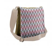 Abstract Arrow Design Messenger Bag