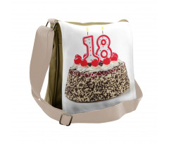 18 Party Messenger Bag
