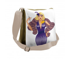 1930s Style Blondie Messenger Bag