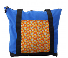 Abstract Autumn Flora Shoulder Bag