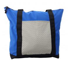 Abstract Art Grid Shoulder Bag