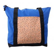 Abstract Autumn Botany Shoulder Bag
