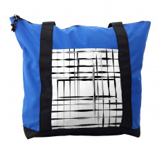 Abstract Art Geometric Shoulder Bag